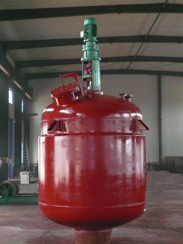 12M3机械密封反应釜-闭式带人孔结构